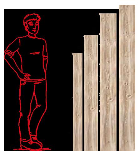 Dimensioni listelli pavimento in laminato e LVT_Candioli